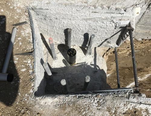 Integrità e lunghezza su pali di fondazione (prova PIT)